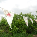 Floral Country Bunting hire