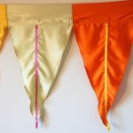 Silk and Ribbon Bunting hire