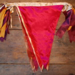 Luxurious Large Silk Bunting hire