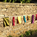 Block Satin Bunting hire