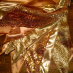 Gold Bunting hire