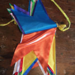 Snake tongue bunting hire