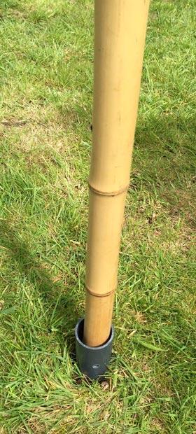 Festival flag pole - bamboo