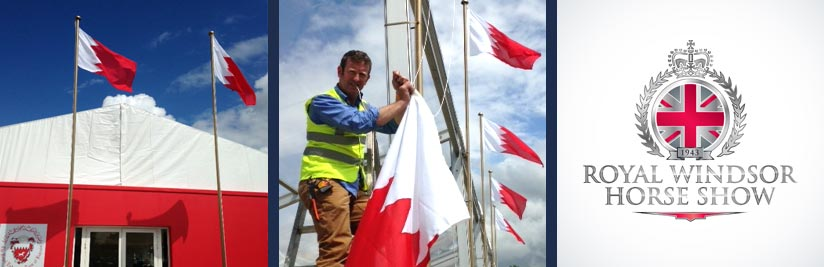 Bahrain Flags for Windsor - Event Flag Hire Company