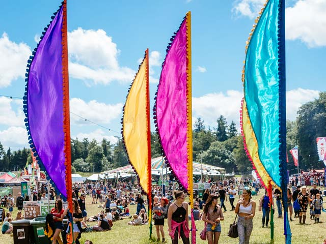 Indian Summer festival flags